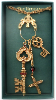 Vatican Keys and Cross Special Edition Necklace