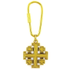 Jerusalem Cross Keychain