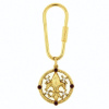 Blessed Flower of the Lily Key Ring
