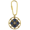 Windows to Heaven Floral Pendant Key Ring