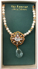 Pearl, Gold and Crystal Vatican Collection Necklace