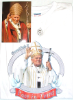 Pope John Paul II T-Shirt ITALIAN TEXT (SKU: PT1)