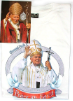 Pope John Paul II T-Shirt ENGLISH TEXT (SKU: PT2)