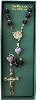 Purple Bead Vatican Collection Rosary