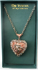 Glorious Cherub Vatican Collection Locket Necklace
