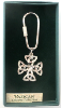 Silver Celtic Cross Vatican Key Ring