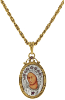 Pope John Paul II Replica Iconica Mary Necklace (SKU: 91177)