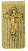 Gold Crucifix Money Clip