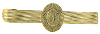 Gold-Tone Mary Tie Bar Clip