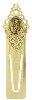 Gold-Tone Mary Bookmark