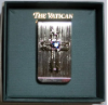 Silver and Sapphire Crystal Vatican Collection Money Clip
