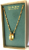 Gold Ring with Crosses Vatican Library Collection Necklace