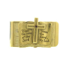 "Gold-Tone Open Bible ""Bless The Lord"" Money Clip"