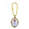 Pope Francis Keychain 24K Gold-Plated