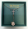 Crystal Ball and Cross Vatican Necklace