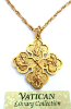 Life of Jesus Vatican Cross Necklace