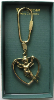 Angel-Heart Vatican Library Collection Key Ring