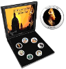1. Pope Benedict XVI Commemorative Lira Coin Set