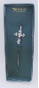 Silver Cross Vatican Bookmark
