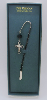 Silver Cross Crystal Vatican Bookmark