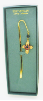 Gold-Plated Swarovski Crystals Cross Vatican Bookmark