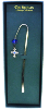 Silver Cross and Crystal Vatican Bookmark