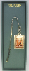 Silver-Plated Initial 'R' Vatican Bookmark
