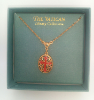 Framed Enamel Cross Vatican Necklace