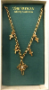 Vatican Library Cross Charm Necklace