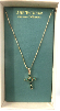 Emerald Crystal Vatican Cross Necklace