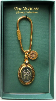 Holy Family Gold and Silver Vatican Key Ring