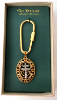 Patriarchal Cross Key Chain